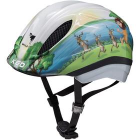 KED Meggy Trend casco per bici Bambino colorato